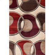 Around the Block Beige Red Product Image