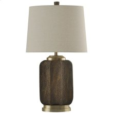 Strausburg  Transitional Steel & Resin Table Lamp
