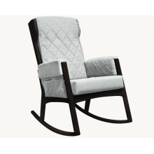 Margot - Light Grey and Espresso Glider