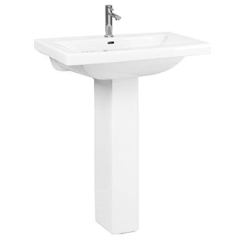Mistral 650 Pedestal Lavatory - Single-Hole