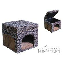 Cale Chenille & Microfiber Pet House Set