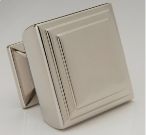 Antique Brass Square Knob Product Image