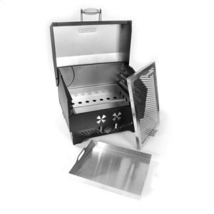 The Traveler--Portable Charcoal Grill
