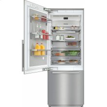 KF 2811 SF MasterCool fridge-freezer For high-end design and technology on a large scale.