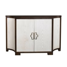 Guy Clipped Corner Door Cabinet