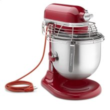 NSF Certified® Commercial Series 8 Quart Bowl-Lift Stand Mixer with Stainless Steel Bowl Guard - Empire Red