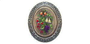 Fruit Bouquet - Hand-tinted Antique Pewter Product Image