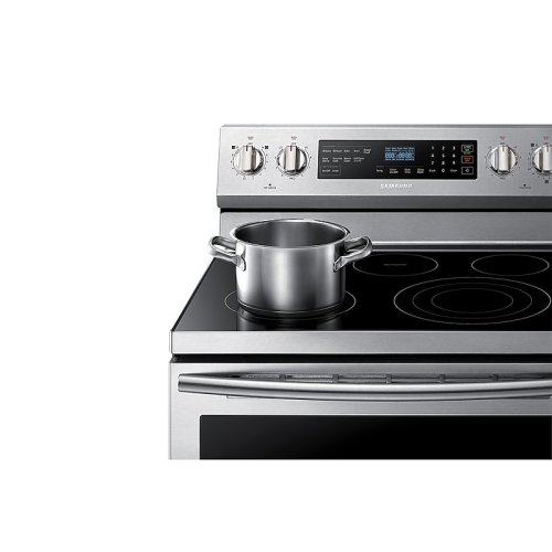 5.9 cu. ft. Freestanding Electric Range with True Convection in Stainless Steel