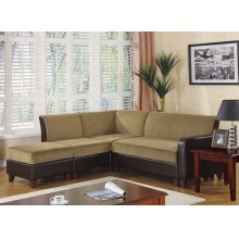 """LOVE SEAT/COCOA & BROWN 48""""Wx32""""Dx32""""H"""