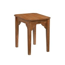 Bench Bracket End Table