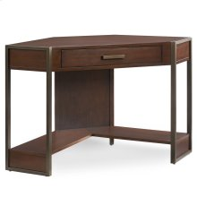 Metal and Wood Corner Desk #91430