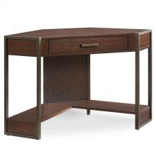 Metal and Wood Corner Desk #91430