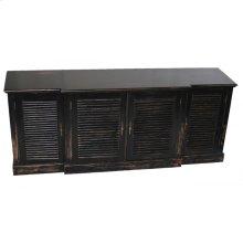 4-Door Media Cabinet