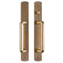 """Curved Patio Sliding Door Set - 1 3/4"""" x 13"""" Silicon Bronze Brushed"""