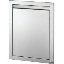 "18"" x 24"" Reversible Single Door , Stainless Steel"
