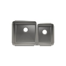 "Classic 003233 - undermount stainless steel Kitchen sink , 18"" × 18"" × 10""  12"" × 16"" × 8"""