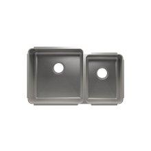 """Classic 003233 - undermount stainless steel Kitchen sink , 18"""" × 18"""" × 10""""  12"""" × 16"""" × 8"""""""
