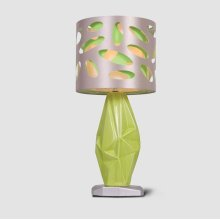 Ceramic Green Lamp
