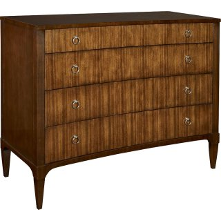 Artisan Curved Front Chest - Mahogany