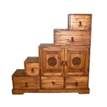 Tansu 5 Step Chest
