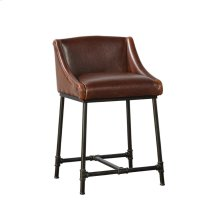 Iron Pipe Counter Stool