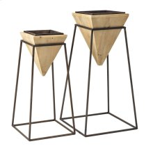 Aksel Plant Stands - Set of 2