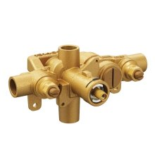 """M-Pact moentrol® 1/2"""" cc connections includes pressure balancing with check stops and volume control"""
