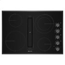 """Black Floating Glass 30"""" JX3 Electric Downdraft Cooktop Product Image"""