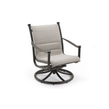 High Back Outdoor Swivel Tilt Chat Chair