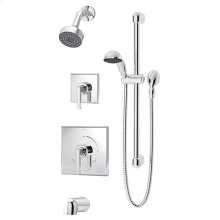 Symmons Duro® Tub/Shower/Hand Shower System - Polished Chrome