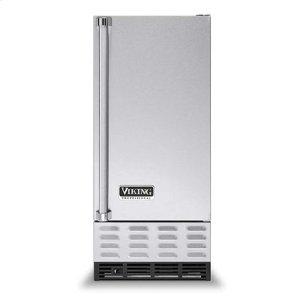"""White 15"""" Undercounter/Freestanding Ice Machine - VUIM ((left hinge))"""