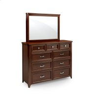 Belvedere Mule Chest Mirror Product Image