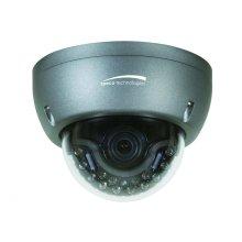 HD-TVI 3MP Intense IR Dome Camera, 2.8-12mm Lens, Dark Gray Housing