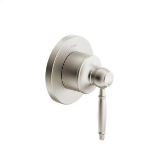 Classic motion 2-way diverter trim kit, with shutoff, brushed nickel Product Image