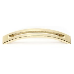 Slit Top Pull A422-4 - Polished Brass