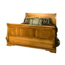 Legacy Queen Bed with high footboard