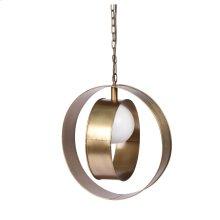 Niles Large Round Pendant