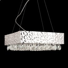 12-LIGHT PENDANT - Nickel