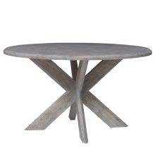 Hayden Dining Table (Wood Top)