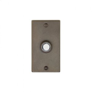 Metro Doorbell Button Silicon Bronze Brushed Product Image