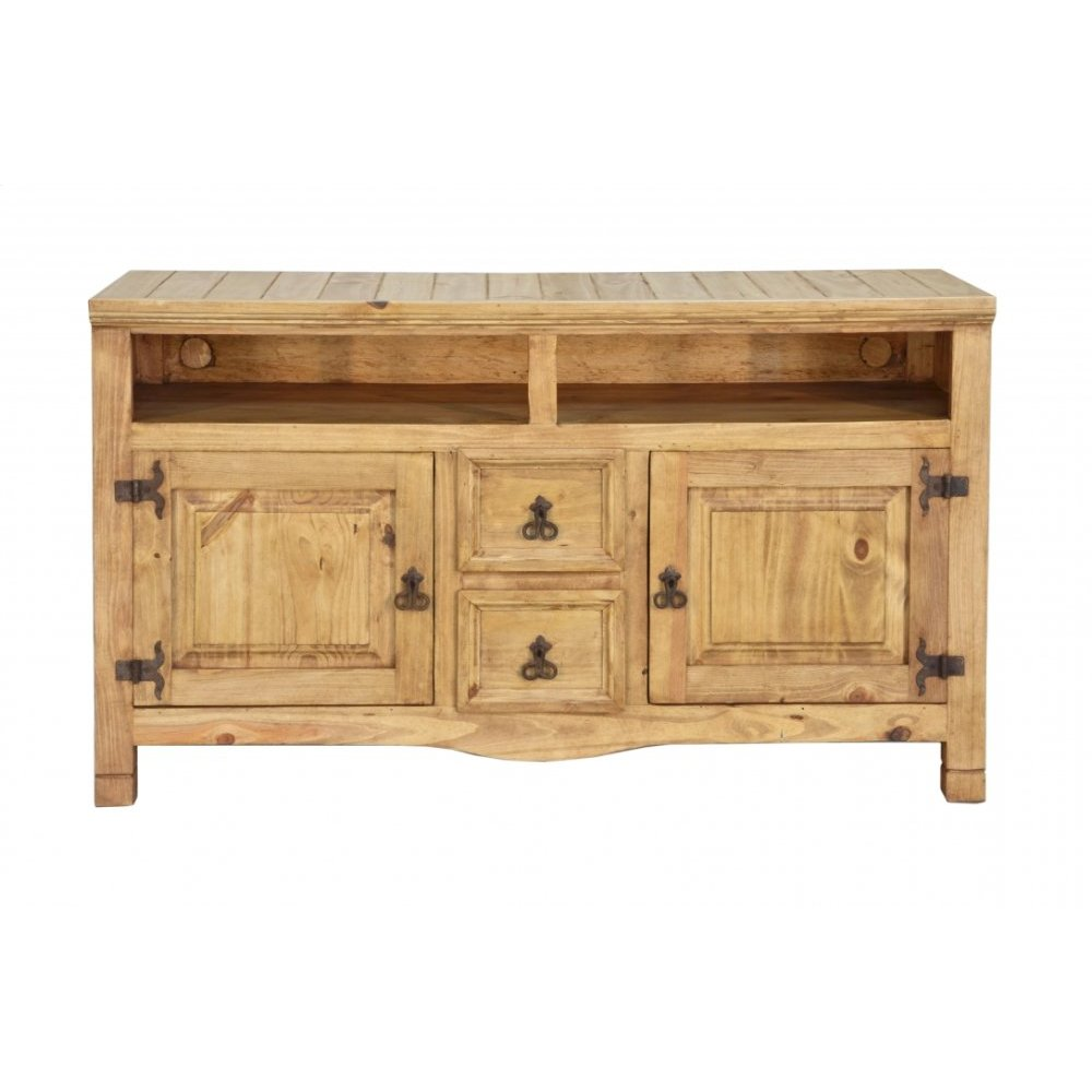 Traditional TV Console