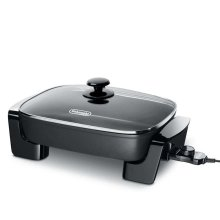 Electric Skillet with Tempered Glass Lid - BG45