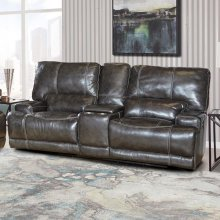 STEELE - TWILIGHT Power Console Loveseat