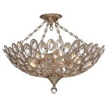 Sterling 5 Light Distressed Twilight Ceiling Mount