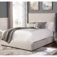 Kate Crepe King Bed 6/6 Product Image