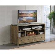Liam - 54-inch TV Console - Gray Acacia/galvanized Metal Finish Product Image