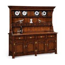 Large Walnut Welsh Dresser