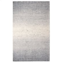 Sari Stripe Rug, BLACK, 5X8