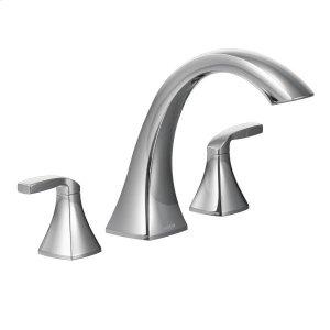 Voss chrome two-handle roman tub faucet Product Image