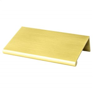 Bravo 56mm CC Satin Gold Edge Pull Product Image